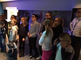 A virtual reality supermarket at P&G!