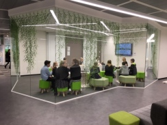 Cool meeting rooms at P&G!