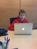Giorgio Y7 - at an NGO think tank. Contract work in the morning and then reviewing Security Council resolutions!