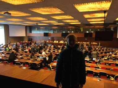 Miranda Y8 - at the ILO Governing Council meeting.