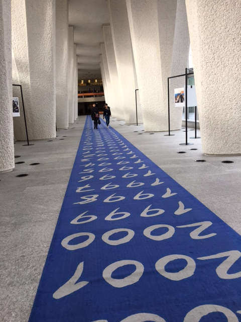Main walkway years carpet @ the International Labour Organisation.