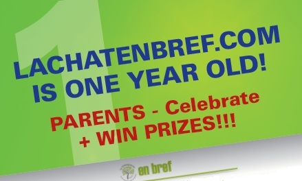 lachatenbref.com first anniversary competition