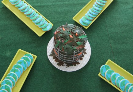 The compost cake!