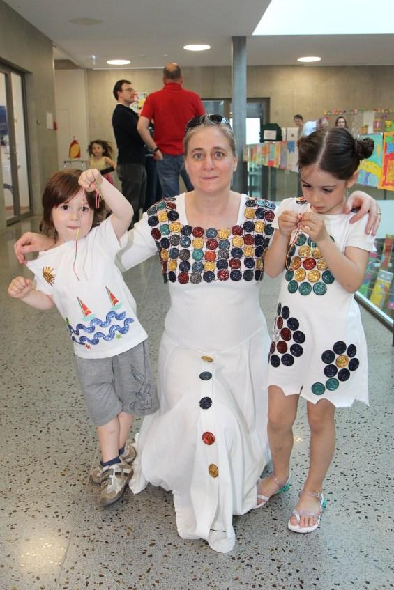 Winning Family Costume!