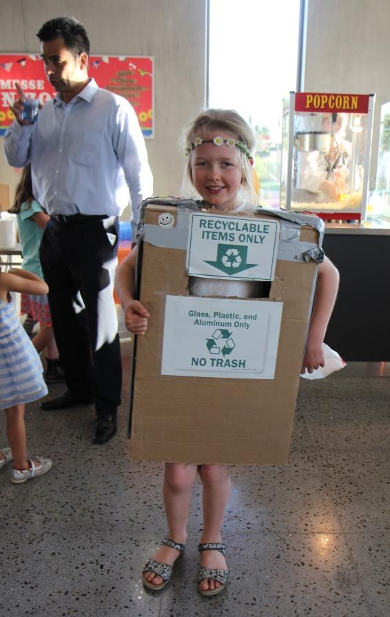 Winning costume