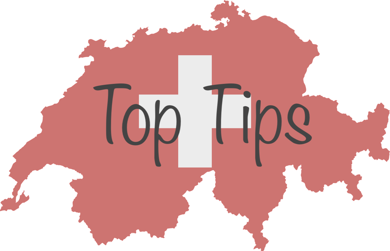 Top Tips Swiss Flag
