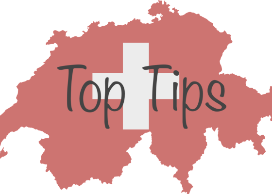 Top Tips Swiss Flag